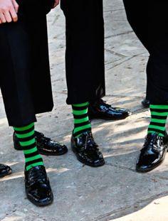 10 Grooms & Their Socks!   The Knot Blog