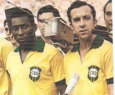 Pelé e Tostão, Seleção de 1970