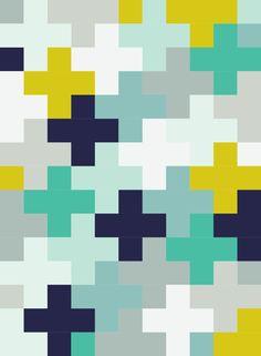 Plus Quilt pattern tutorial Boy Quilts, Rag Quilt, Scrappy Quilts, Quilt Blocks, Quilting Tutorials, Quilting Projects, Quilting Designs, Quilt Inspiration, Color Inspiration