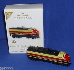 Hallmark #limited ornament lionel #trains kansas city southern #locomotive 2010 n,  View more on the LINK: http://www.zeppy.io/product/gb/2/301584667830/