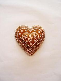 krasne zdobený Wedding Favours, Gingerbread, Heart Ring, Brooch, Rings, Jewelry, Jewellery Making, Wedding Wishes, Ginger Beard