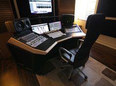 Sterling Modular custom studio desk