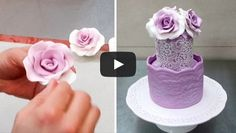 Hi ladies and gentelmen, Its really amazing Fondant Roses making Without Any Tools. Just roses and a...