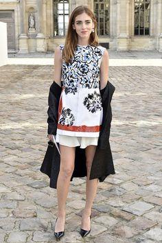 Chiara Ferragni|キアラ・フェラーニディオールのファッションショー会場・パリ