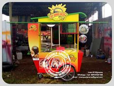 Desain Logo   Logo Kuliner    Desain Gerobak   Jasa Desain dan Produksi Gerobak   Branding: Produksi Gerobak Dorong Sop Durian Kresek