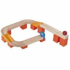 Wonderworld knikkerbaan Tracks & Ball. Makkelijk te combineren met de andere Wonderworld knikkerbaan sets.