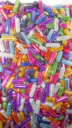 a rainbow of glitter pills. Collage Mural, Photo Wall Collage, Picture Wall, Rainbow Aesthetic, Pink Aesthetic, Pastel Wallpaper, Wallpaper Backgrounds, Phone Backgrounds, Aesthetic Iphone Wallpaper
