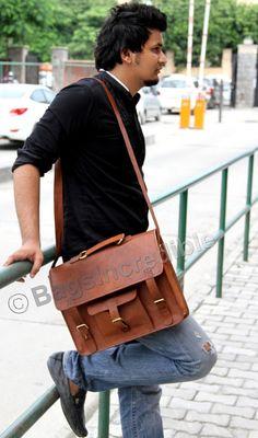 13 Macbook Bag / Leather Laptop Bag / Laptop by bagsincredible, $44.95