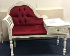 Up-cycled Shabby Chic Telephone Table
