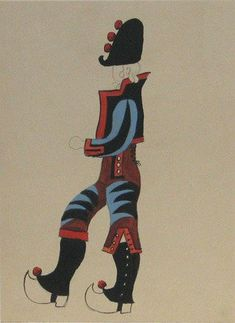 pablo picasso costume design for parade - Google Search
