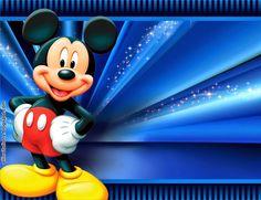Invitacion Mickey Mouse