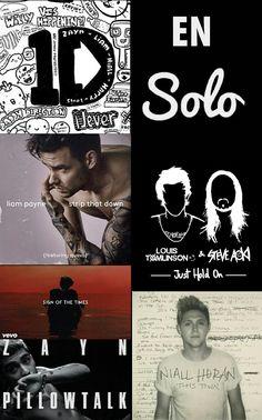 Les 1er projets des One Direction de leur côté ❤