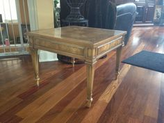 Weiman End Table in Napervillethis one done in red or weathered gray