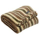 Columbia Coral Fleece Throw, Spruce Stripe (Kitchen)By Columbia