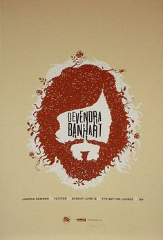 Devendra Banhart, Joanna Newsom and Vetiver at the Bottom Lounge, by Spike Press