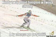 Polish Memes, Ski Jumping, The Vamps, Skiing, My Life, Baseball Cards, Humor, Jumpers, Funny