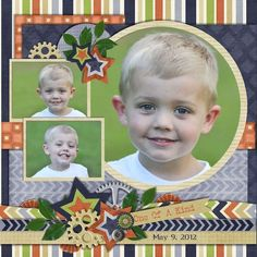 Sensational You scrapbook layout by donmoblue