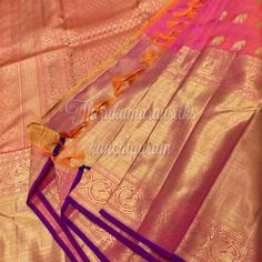 #Traditional #pink #kanjivarams,from #Thirukumaransilks,can shop with us at +919842322992/whatsapp or at thirukumaransilk@gmail.com