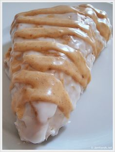 Glazed Pumpkin Scones...like Starbucks, yum!!