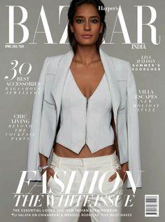 Harper's Bazaar India April 2014 | Lisa Haydon by Suresh Natarajan