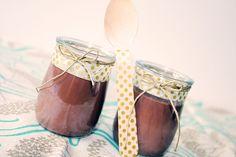 Per presentar un postre de xocolata (Amb recepta THX)