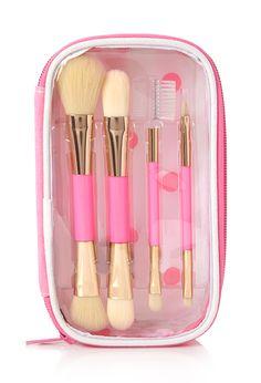 Striped Brush Set | FOREVER21 #F21Cosmetics