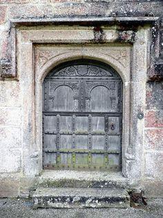Tudor door in England.