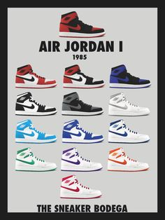 1985 OG's Poster from The Sneaker Bodega