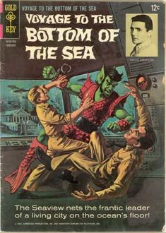 "kwebtv:  ""Voyage To The Bottom Of The Sea"" Gold Key Comics - December 1964 - May 1969 (16 Issues)"