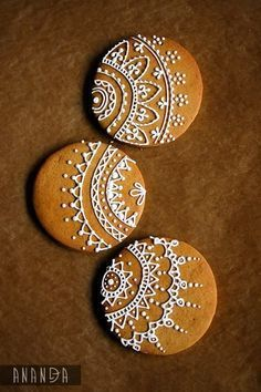 henna inspired gingerbread cookies - Google Search More