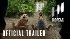 Peter Rabbit Movie - Official UK Trailer - At Cinemas March 16 2018 Peter Rabbit Movie, New Movies Coming Soon, Domhnall Gleeson, New Adventures, Movies To Watch, Cute Wallpapers, Cinema, Pictures, March