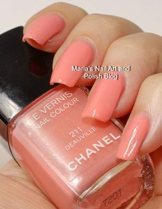 Chanel Deauville 211 swatches - summer 2006