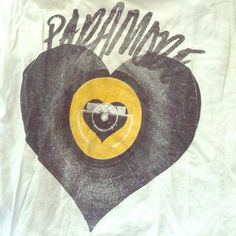 paramore tshirt Soft Gray Paramore T Shirt, 100% cotton. Gently worn, in good condition! Tops