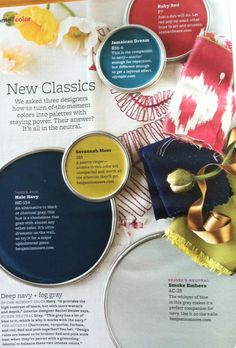 BHG New Classics - I love this color combo. It has deep classics and vibrant modern hues that make it versatile for almost any room style.