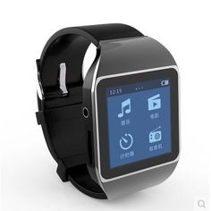Smart touch screen Bluetooth MP3 MP4 Player USBSD sport running pedometer HiFi music watch  8gb -- Check this awesome product by going to the link at the image.