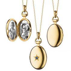 +Monica+Rich+Kosann+Petite+Oval+Locket+with+Sapphire+in+18k+Yellow+Gold