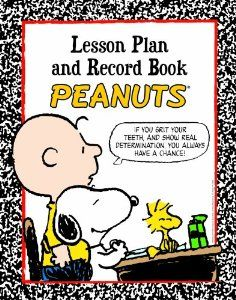 Peanuts Lesson Plan And Record Book by Eureka PEANUTS LESSON PLAN AND RECORD BOOK x is a spiral bound book provides pages to record attendance or assignments. Lesson plan pages for an entire school year (up to 40 weeks). Additional pages . School Supplies For Teachers, Teacher Supplies, Classroom Supplies, Classroom Themes, Classroom Organization, Daycare Themes, Classroom Management, Office Supplies, Snoopy Classroom