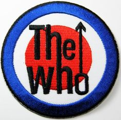 Battle Music Band Large Big Huge XLG The Who Target Sew On Back Patch