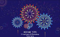 夏の夜空を彩る花火のイラストの作り方(イラストレーター) Fireworks Design, Japanese Birthday, New Year Designs, Dot Art Painting, Hanabi, Dots Design, Pointillism, Game Design, Japanese Art