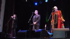 Ray, JJ & June Tabor - Oysterband in Treorci Feb 2013