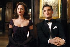 total elegance. Blair Waldorf and Chuck Bass / Gossip Girl
