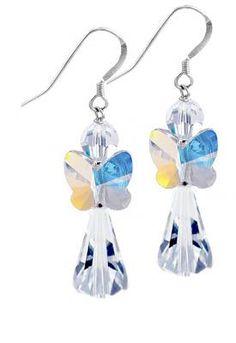 Swarovski Crystal AB Angel Earring Kit