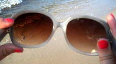 looking through sunglasses ;)
