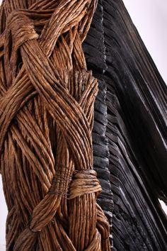 artpropelled:  Texture …. Kate Hunt sculpture