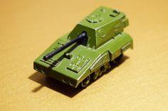 Tank Matchbox Toy Rolamatics No.70 SP Gun Engeland 1976 Lesney producten Vintage