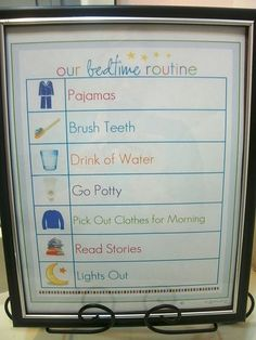 get your kids in bed on time with a printable bedtime routine Bedtime Routine Printable, Bedtime Routine Baby, Toddler Fun, Toddler Preschool, Teaching Kids, Kids Learning, Cool Baby Stuff, Kid Stuff, Routine Chart