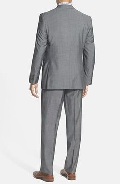 David Donahue Ryan Clic Fit Wool Suit Nordstrom