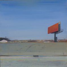 """Pintura Contemporánea - """"Contrafuerte 1"""" (Arte original de Trevor Young)"""