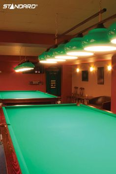 General service reflector lamps are line voltage compatible and are used in general residential and commercial applications. Their special feature is to produce directional light. #StandardProducts #Lighting #bar #Pooltable
