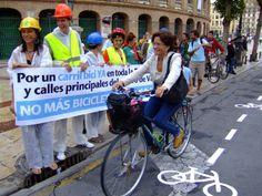 Carril bici Ronda interior  València, 20100921